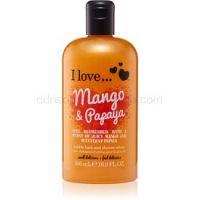 I love... Mango & Papaya sprchový a kúpeľový krém 500 ml