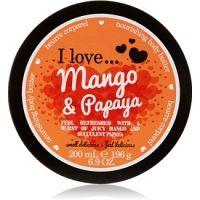 I love... Mango & Papaya telové maslo  200 ml