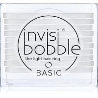 invisibobble Basic tenké gumičky do vlasov Crystal Clear 10 ks