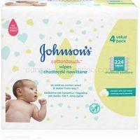 Johnson's Baby Cottontouch detské jemné vlhčené obrúsky 224 ks