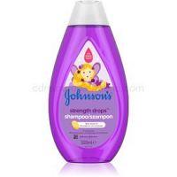 Johnson's Baby Strenght Drops posilňujúci šampón pre deti 500 ml