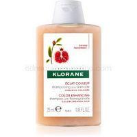 Klorane Pomegranate šampón pre farbené vlasy 25 ml