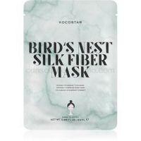 KOCOSTAR Bird's Nest Silk Fiber Mask plátenná maska pre intenzívnu hydratáciu pleti  25 ml