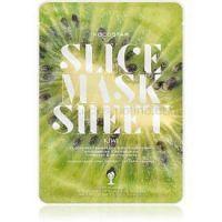 KOCOSTAR Slice Mask Sheet Kiwi rozjasňujúca plátienková maska s vitamínom C 20 ml