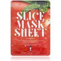 KOCOSTAR Slice Mask Sheet Tomato plátenná maska s rozjasňujúcim a hydratačným účinkom  20 ml