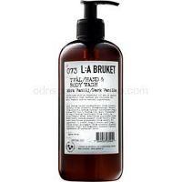 L:A Bruket Body tekuté mydlo s vanilkou 450 ml