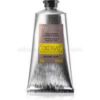 L'Occitane Cedrat hĺbkovo hydratačný krémový gél po holení pre mužov 75 ml