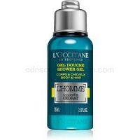 L'Occitane Homme sprchový gél na telo a vlasy pre mužov 75 ml