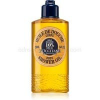 L'Occitane Shea Butter Body ošetrujúci sprchový olej 250 ml