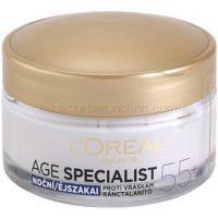 L'Oréal Paris Age Specialist 55+ nočný krém proti vráskam 50 ml