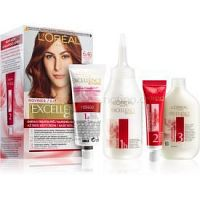 L'Oréal Paris Excellence Creme farba na vlasy odtieň 6.46 Natural Light Copper Red