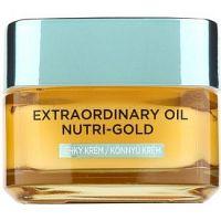 L'Oréal Paris Extraordinary Oil Nutri-Gold ľahký vyživujúci olejový krém 50 ml