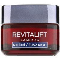L'Oréal Paris Revitalift Laser X3 nočný regeneračný krém proti starnutiu pleti 50 ml