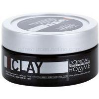 L'Oréal Professionnel Homme 5 Force Clay modelovacia hlina  silné spevnenie  50 ml
