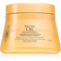 L'Oréal Professionnel Mythic Oil ľahká olejová maska pre normálne až jemné vlasy bez parabénov a silikónov 200 ml