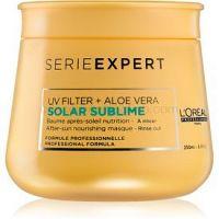 L'Oréal Professionnel Serie Expert Solar Sublime vyživujúca maska pre vlasy namáhané slnkom s UV filtrom 250 ml