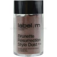 label.m Complete vlasový púder pre hnedé odtiene vlasov  3,5 g