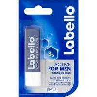 Labello Active Care balzam na pery pre mužov SPF 15 4,8 g