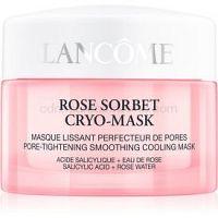 Lancôme Rose Sorbet Cryo-Mask 5minútová maska pre svieži vzhľad pleti 50 ml
