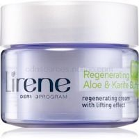 Lirene Moisture & Nourishment regeneračný liftingový krém s aloe vera a bambucké maslo 50 ml