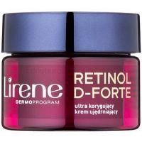 Lirene Retinol D-Forte 50+ spevňujúci nočný krém proti vráskam na korekciu vrások 50 ml