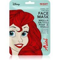 Mad Beauty Disney Princess Ariel hydratačná plátienková maska s výťažkami z uhorky 25 ml