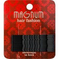 Magnum Hair Fashion pinetky do vlasov čierna  12 ks