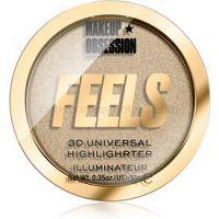 Makeup Obsession Feels rozjasňovač odtieň 24K 10 g
