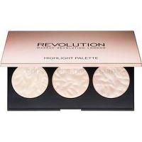 Makeup Revolution Rose Lights paleta rozjasňovačov  11,5 g