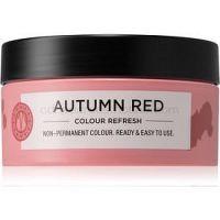 Maria Nila Colour Refresh Autumn Red jemná vyživujúca maska bez permanentných farebných pigmentov výdrž 4 – 10 umytí 6.60 100 ml