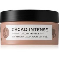 Maria Nila Colour Refresh Cacao Intense jemná vyživujúca maska bez permanentných farebných pigmentov výdrž 4 – 10 umytí 4.10 100 ml