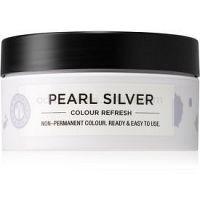 Maria Nila Colour Refresh Pearl Silver jemná vyživujúca maska bez permanentných farebných pigmentov výdrž 4 – 10 umytí 0.20 100 ml