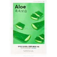 Missha Airy Fit Aloe plátenná maska s vysoko hydratačným a vyživujúcim účinkom  19 g