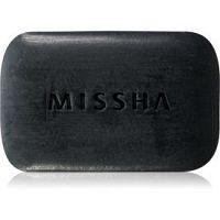 Missha Black Ghassoul čistiace mydlo na aknóznu pleť 80 g