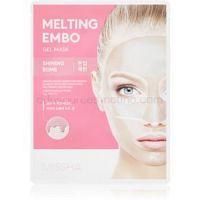 Missha Melting Embo Shining Bomb intenzívna hydrogélová maska pre rozjasnenie pleti 33 g