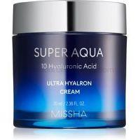 Missha Super Aqua 10 Hyaluronic Acid hydratačný pleťový krém 70 ml