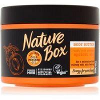 Nature Box Apricot intenzívne hydratačné telové maslo pre jemnú a hladkú pokožku  200 ml