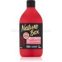 Nature Box Pomegranate povzbudzujúce telové mlieko s hydratačným účinkom  385 ml