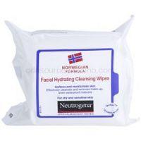 Neutrogena Face Care čistiace utierky pre suchú až citlivú pleť 25 ks