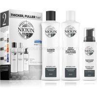 Nioxin System 2 Natural Hair Progressed Thinning darčeková sada unisex III.