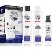 Nioxin System 6 Color Safe Chemically Treated Hair kozmetická sada pre rednúce vlasy VI.