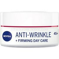 Nivea Anti-Wrinkle Firming spevňujúci denný krém proti vráskam 45+ 50 ml