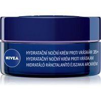 Nivea Anti-Wrinkle Moisture hydratačný nočný krém proti vráskam 35+ 50 ml