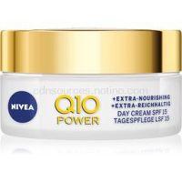 Nivea Q10 Power výživný denný krém proti vráskam 50 ml