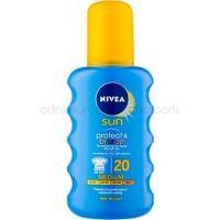 Nivea Sun Protect & Bronze intenzívny sprej na opaľovanie SPF 20 200 ml