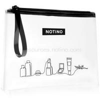 Notino Travel transparentná kozmetická taštička