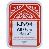 NYX Professional Makeup All Over telový balzam Macadamia Nut Oil 25 g