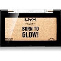 NYX Professional Makeup Born To Glow rozjasňovač odtieň 02 Chosen One 8,2 g