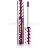 NYX Professional Makeup Candy Slick Glowy Lip Color vysoko pigmentovaný lesk na pery odtieň 07 Grape Expectations 7,5 ml