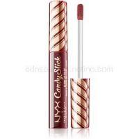NYX Professional Makeup Candy Slick Glowy Lip Color vysoko pigmentovaný lesk na pery odtieň 09 Single Serving 7,5 ml